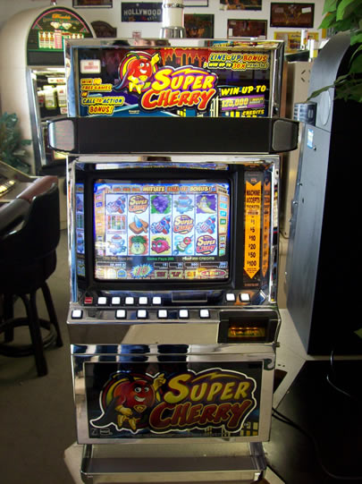 1f8de45bd IGT I-Game Plus Super Cherry Item #471 - USED SLOT MACHINES